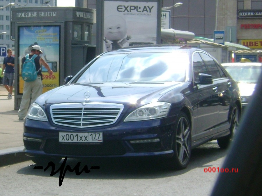 Х 001 хх 177, mercedes-benz / мерседес-бенц s-klasse